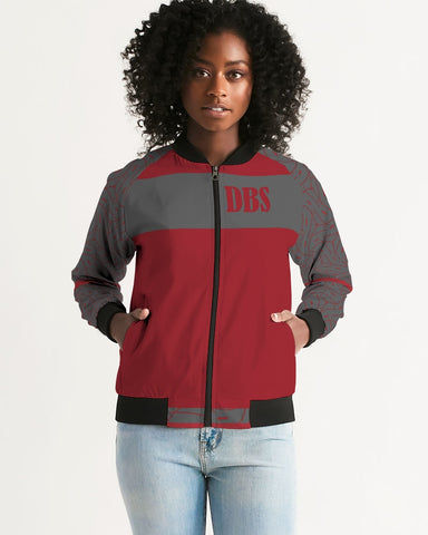 Abstract DBS 3 Women's Bomber Jacket