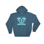 The Kingdom The Crown blue ink  Hoodie
