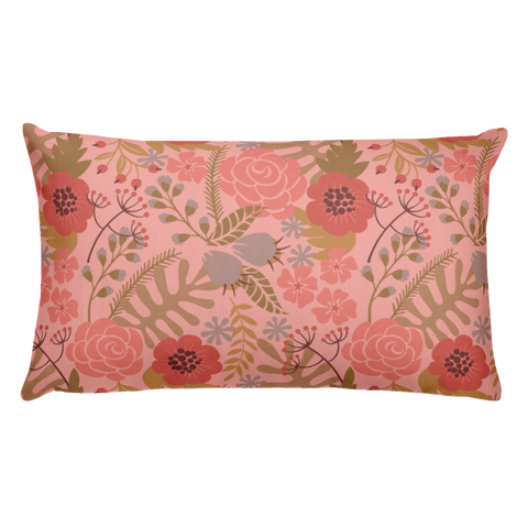 Flower Show 1 Basic Pillow