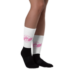 DBS Circle socks pink - Designs By Sengbe