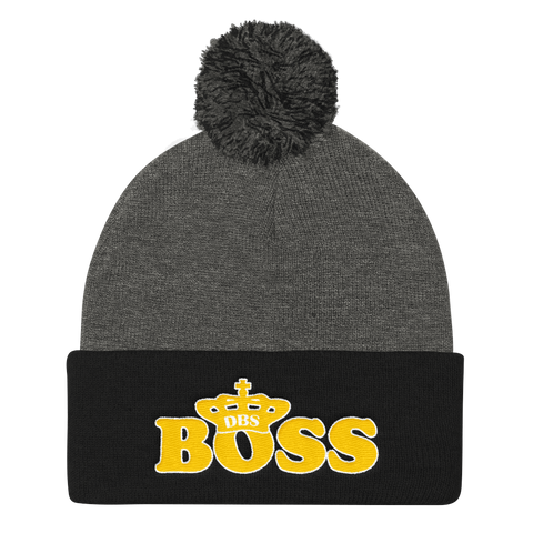 DBS Boss Y&W Knit Cap - Designs By Sengbe