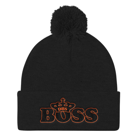 DBS Boss O&B Knit Cap - Designs By Sengbe