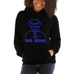 The Boss Blu Hoodie - Designs By Sengbe