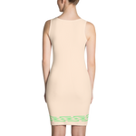 Fashion Face cream pink Dress - Designs By Sengbe