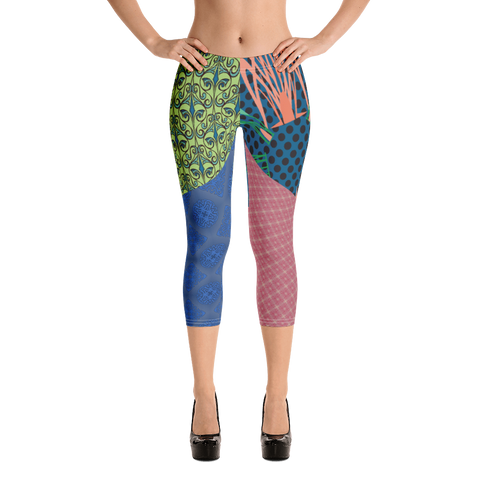 Vision Capri Leggings - Designs By Sengbe