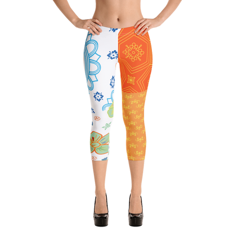 Punch It Up 2 Capri Leggings