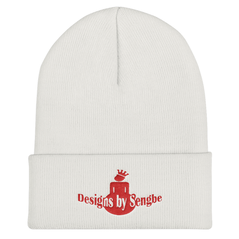 DBS Logo red Beanie - Designs By Sengbe