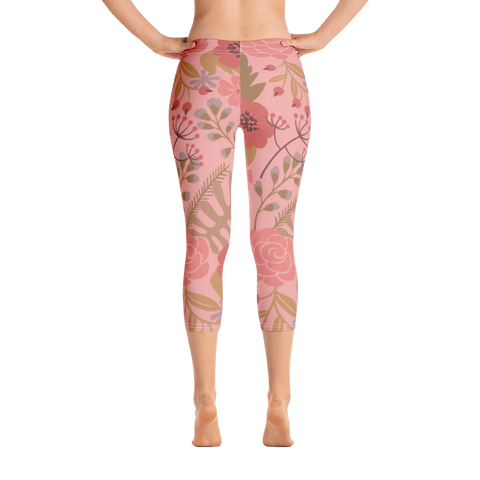 Flower Show 1 Capri Leggings