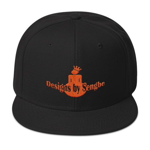 DBS Logo Orange Snapback Hat