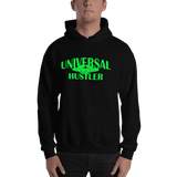 Universal Hustler green ink Hoodie - Designs By Sengbe