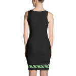 Fashion Face black Dress