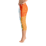 Punch It Up 2 Capri Leggings - Designs By Sengbe