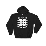 Devil City New Flag Hoodie white ink - Designs By Sengbe