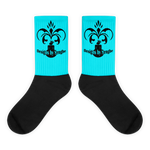 Royal Sengbe socks sky - Designs By Sengbe