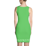 Fashion Face green Dress