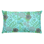 Flower Show 2 Basic Pillow
