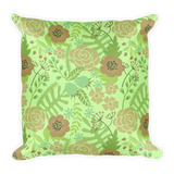 Flower Show 4 Basic Pillow