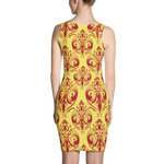 Royal Passion gold Dress - Designs By Sengbe