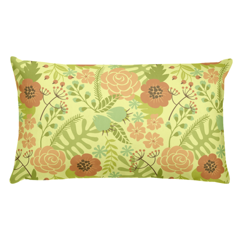 Flower Show 3 Basic Pillow