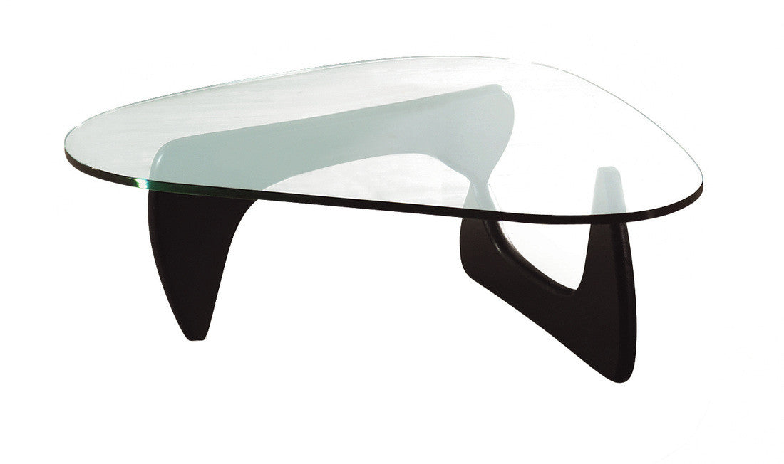 Classic Modern Glass Coffee Table