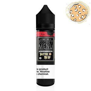 Secret Menu E-liquids Butter Me Up 60ML 3MG Vape Juice Caramel