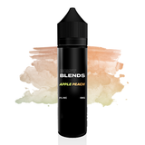 Blends E-liquid, Apple Peach 0MG 60ML vape juice