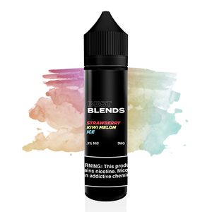 Blends E-liquid Kiwi Melon Strawberry Iced Menthol 60ML 3MG vape Juice