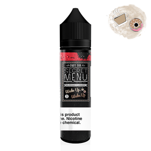 Secret Menu E-liquids Coffee Donuts Wake up 60ML 3MG Vape Juice