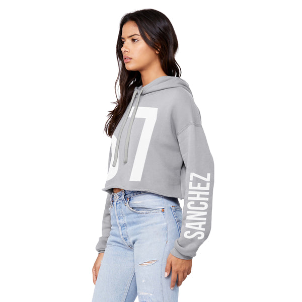Mattie Cropped Hoodie (Customizable)