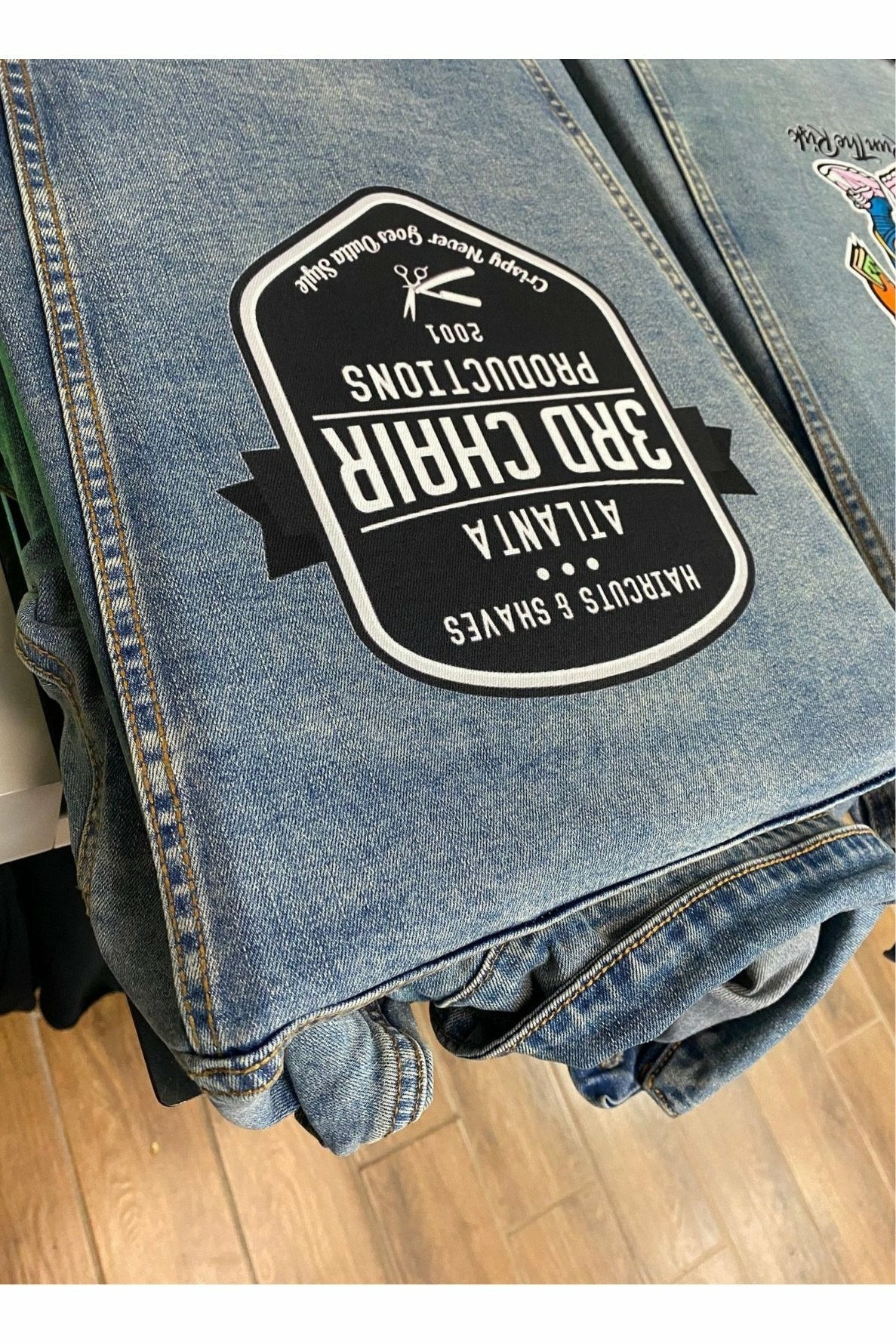 Denim Jacket Sample- Full Color DTG