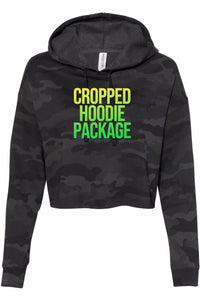 Cropped Hoodie Package- DTG Full color Print