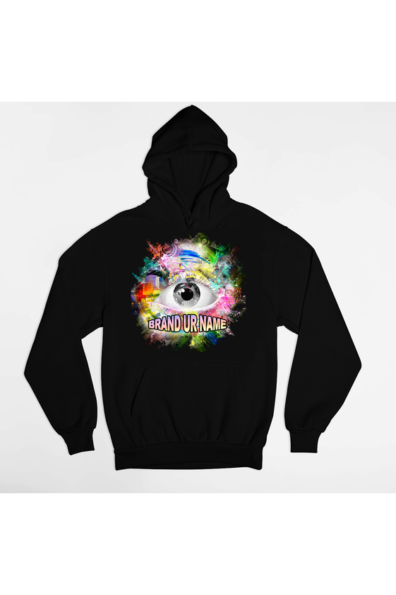 10 Premium DTG Full Color hoodies