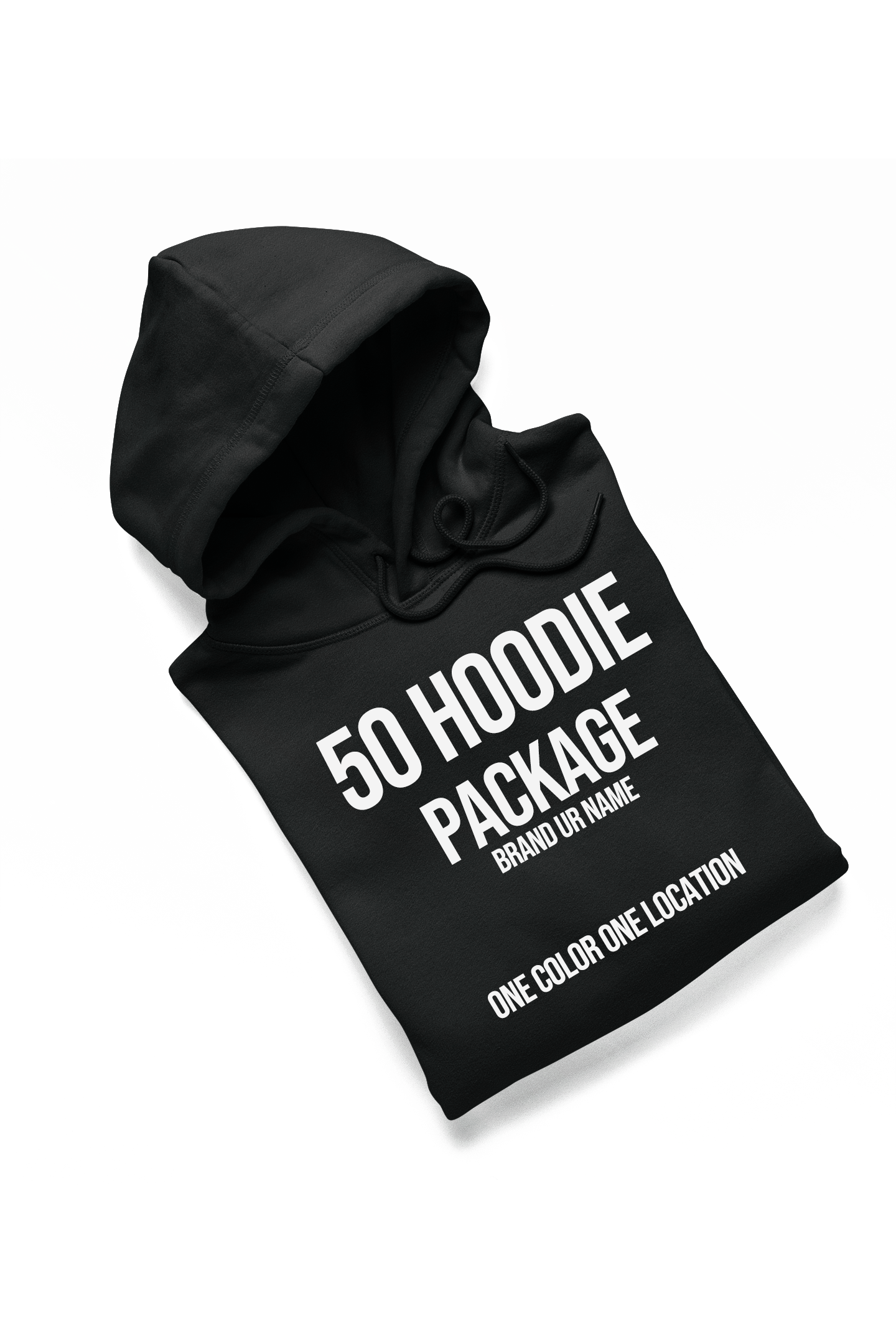 50 Hoodie Package- Screen Print