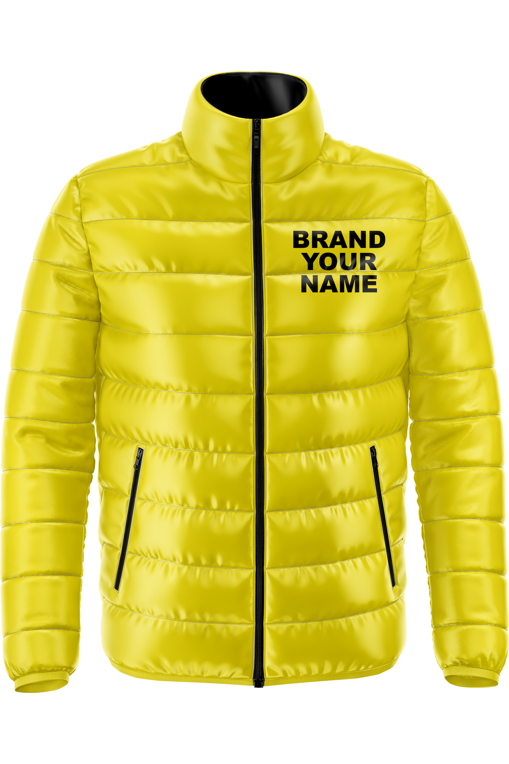 Custom Zipper Puffer Jackets Preorder (Production Starts 8/20/20)