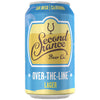 Second Chance Over The Line Lager Cans 6pack