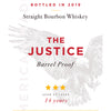 The Justice 14 Year Bourbon Whiskey