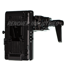 Load image into Gallery viewer, Intersex Plate can be used to attach battery plates Mafer clamps and Manfrotto Super Clamps