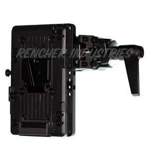 Intersex Plate can be used to attach battery plates Mafer clamps and Manfrotto Super Clamps