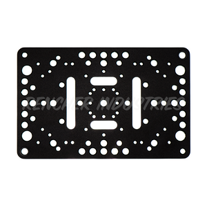 "Intersex Plate is the world's most versatile mounting plate or ""cheese plate"""
