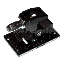 Load image into Gallery viewer, Intersex Plate is compatible with Mafer clamps and Manfrotto Super Clamps