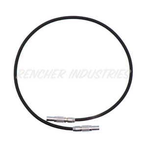 2-pin Lemo power cable for Arri, Teradek, and more