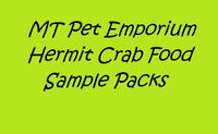 Sample Packs - Hermit Crab Food