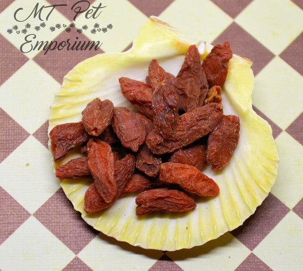Sun-Dried Goji Berries ORGANIC - Hermit Crab Food
