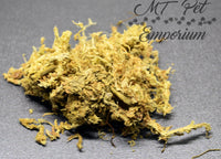 Organic Sphagnum Moss - Hermit Crab Food, Moss Pit Additive, Isopods