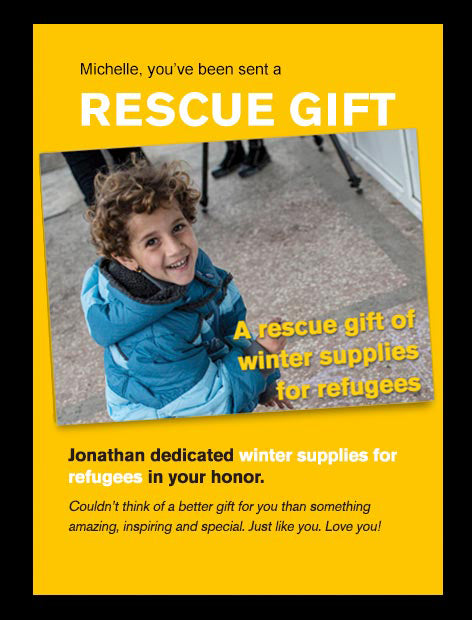 Winter Supplies for Refugees