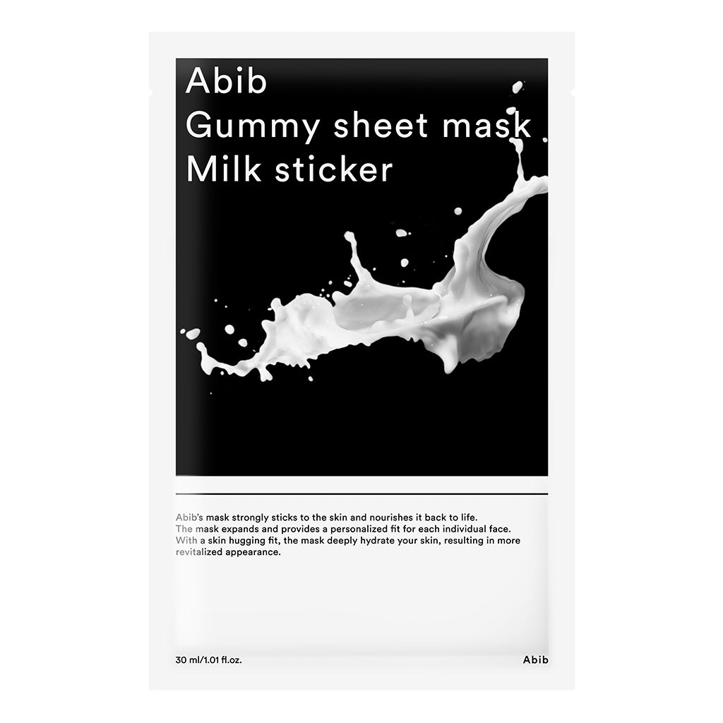 ABIB Gummy Sheet Mask Milk Sticker