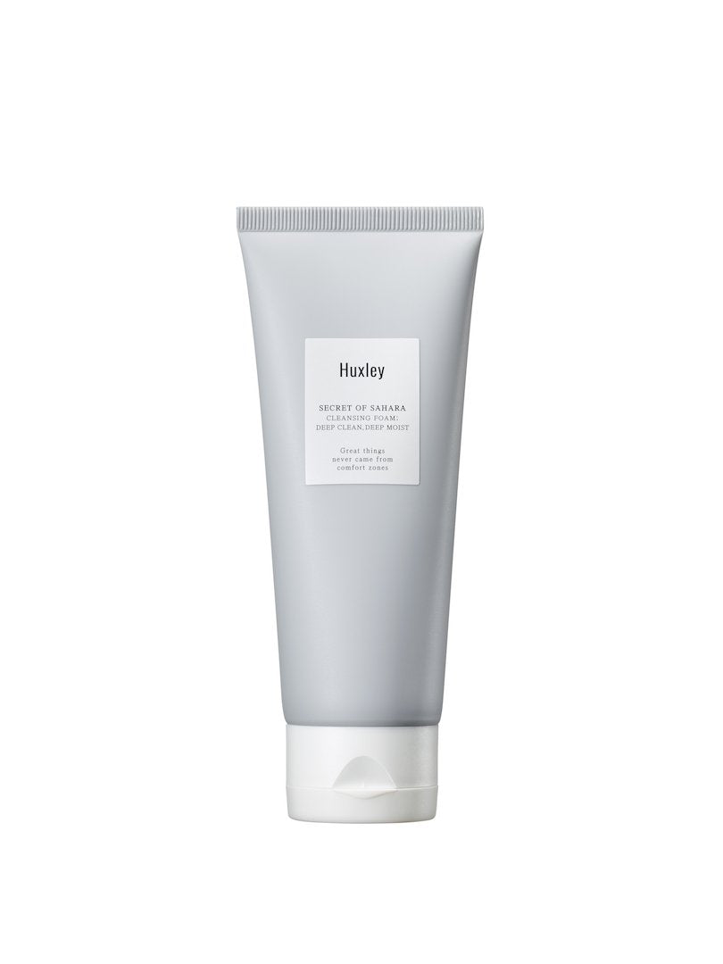 HUXLEY Cleansing Foam; Deep Clean, Deep Moist