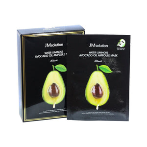 JMSOLUTION Avocado Oil Ampoule Mask (Black) - lamisebeauty