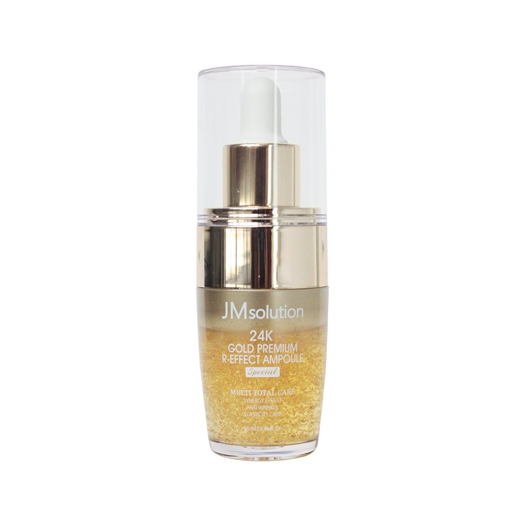JMSOLUTION 24K Gold Premium R-Effect Ampoule - lamisebeauty