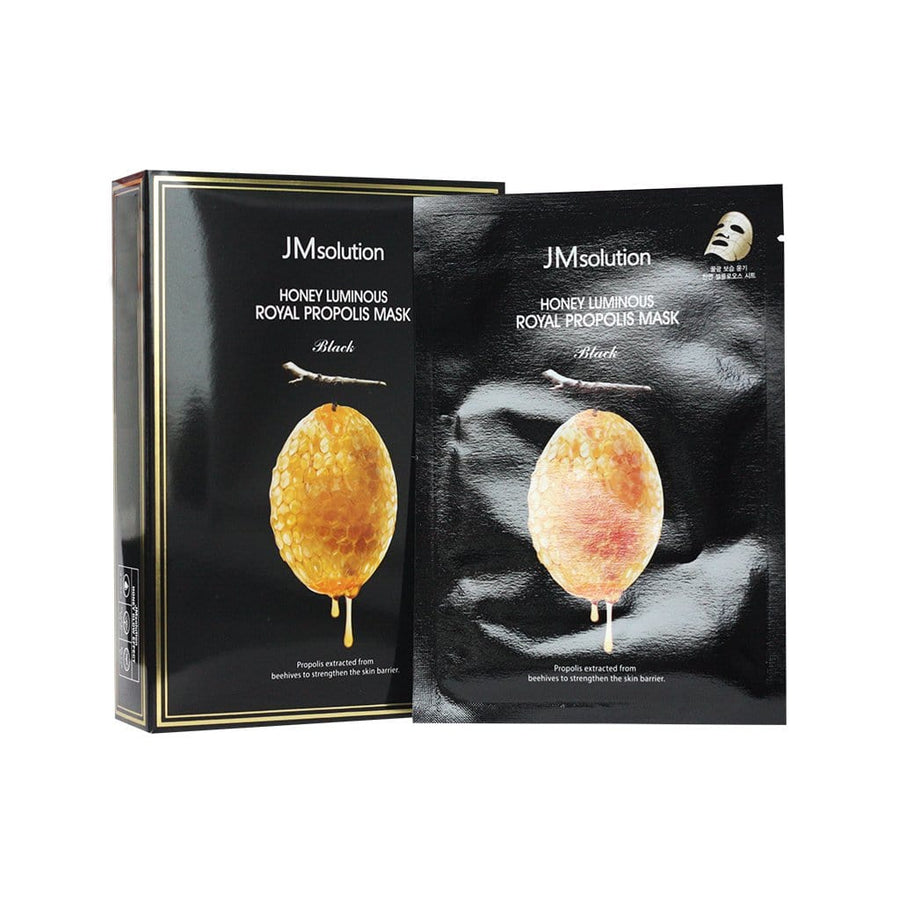 JMSOLUTION Honey Luminous Royal Propolis Mask (Black) - lamisebeauty